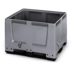 BBG1210K Bigbox zárt műanyag konténer 120x100x79 cm